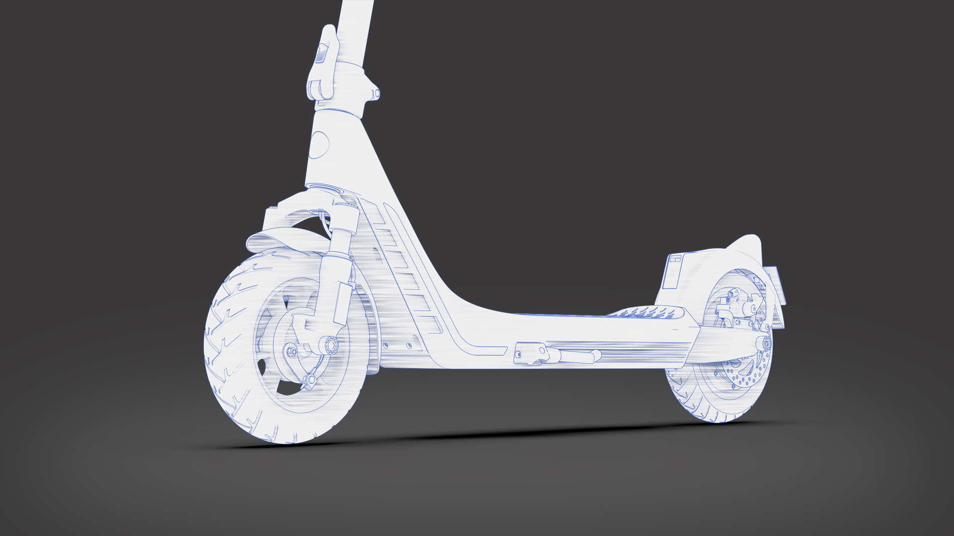 H20 Electric Scooter Design