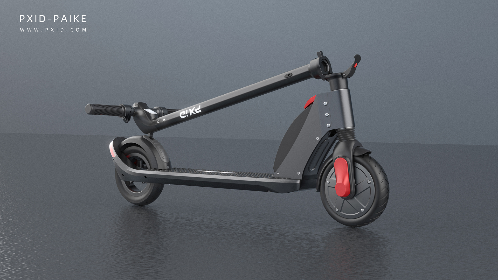 2019 350W folding electric scooter with 36V 5.2AH removable battery