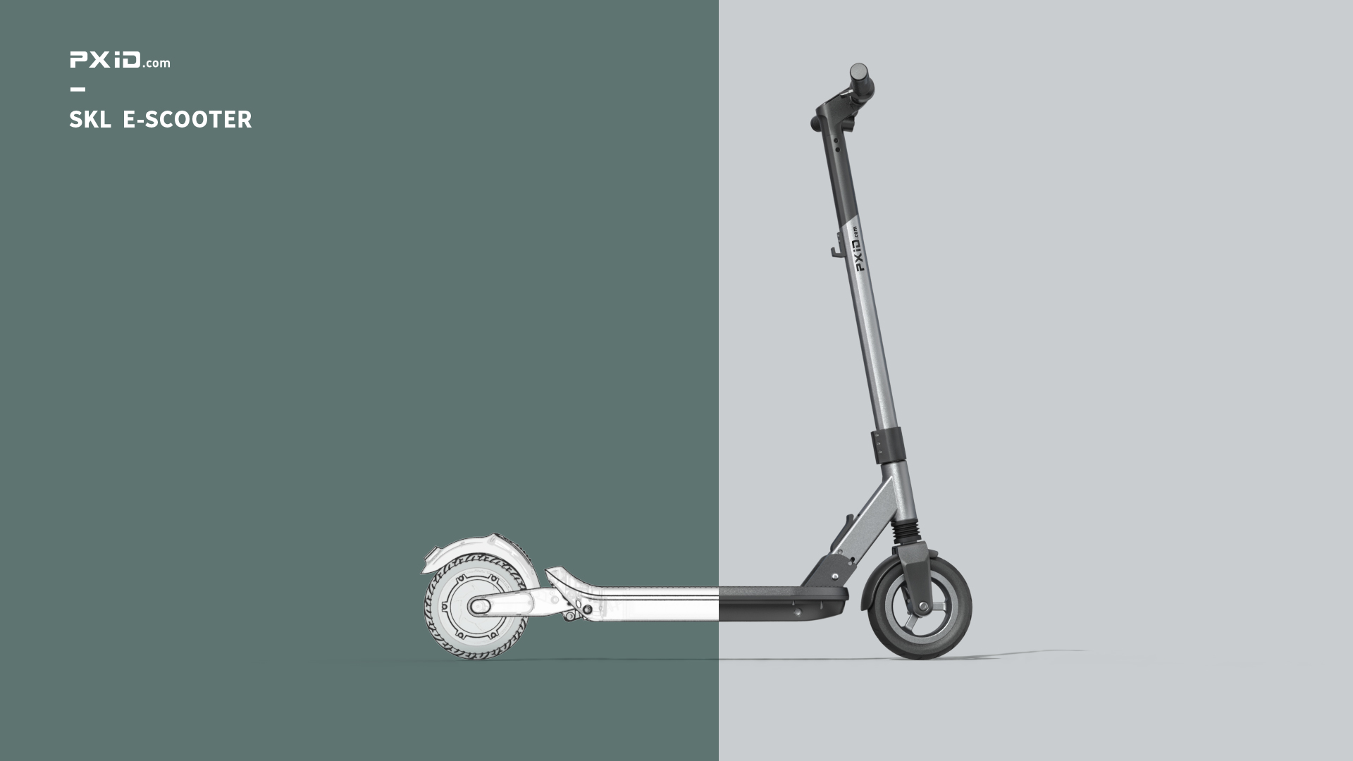 Shengkaluo electric scooter design