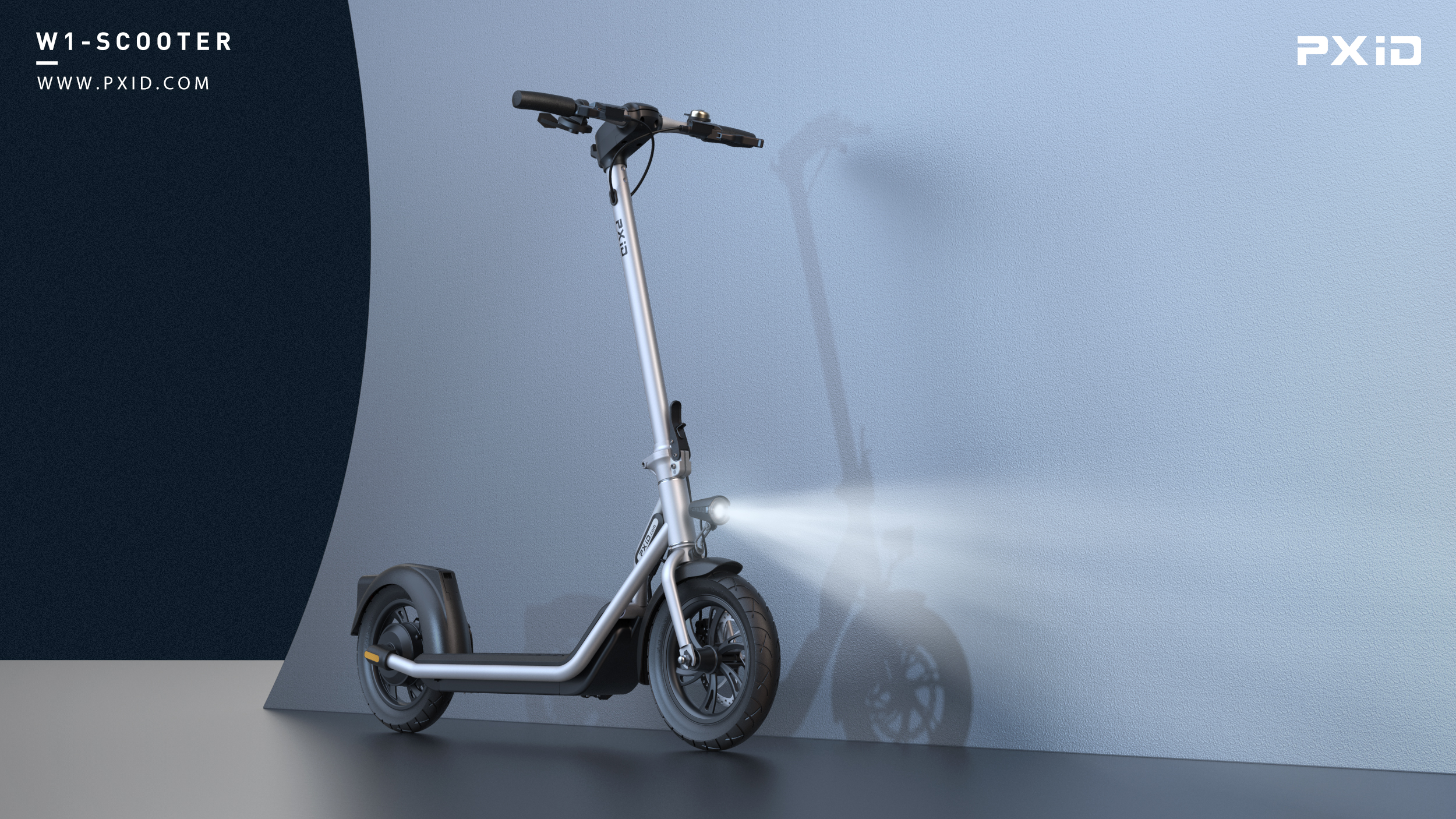 Foldable adult electric scooter design