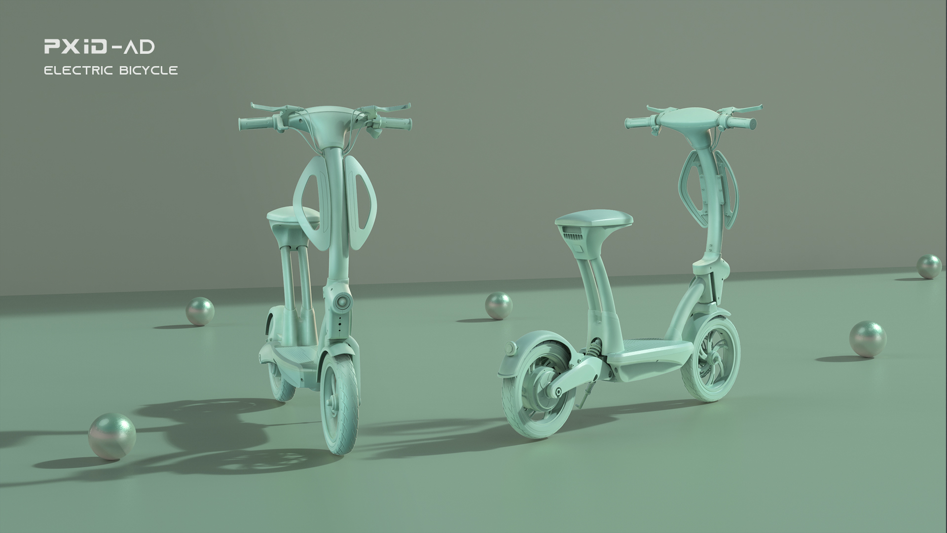 PXID Aiding Electric bike electric bicycle design