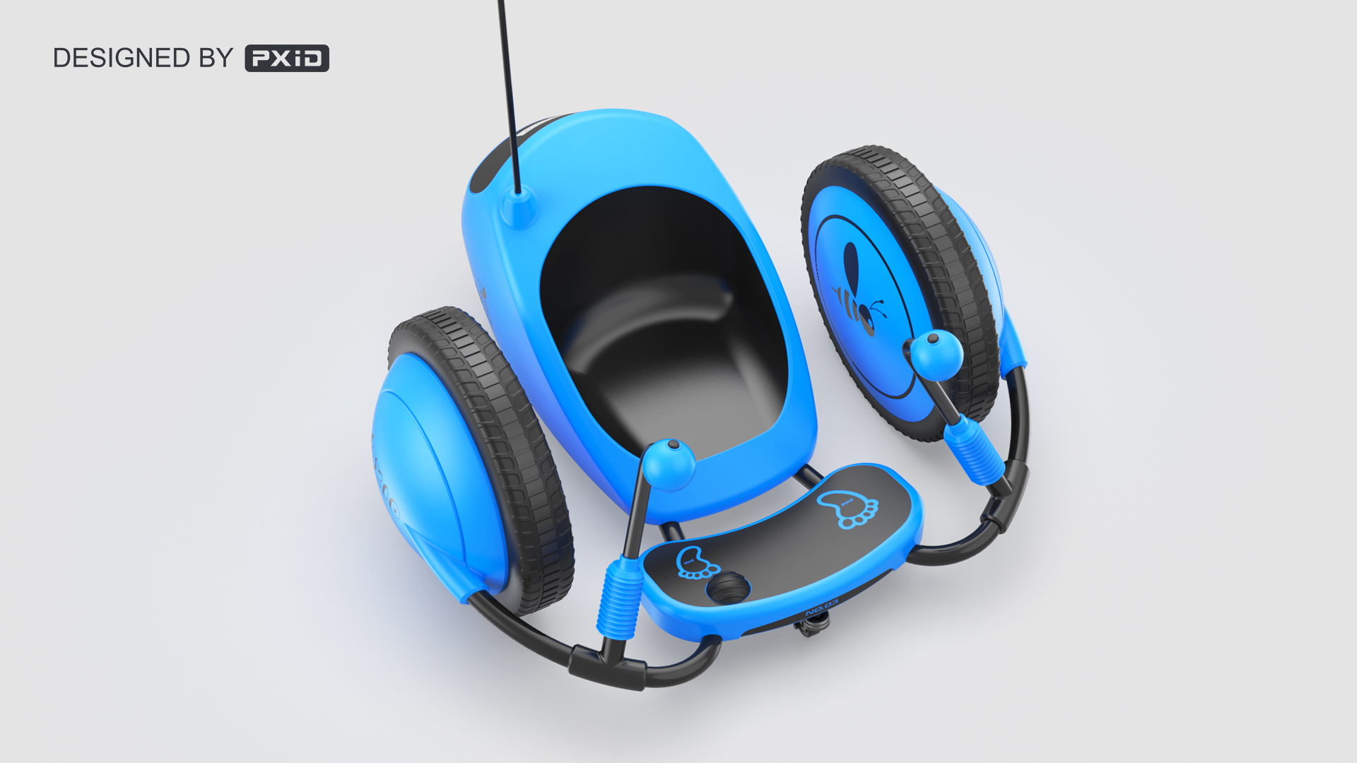 PXID designed Children's drift scooter