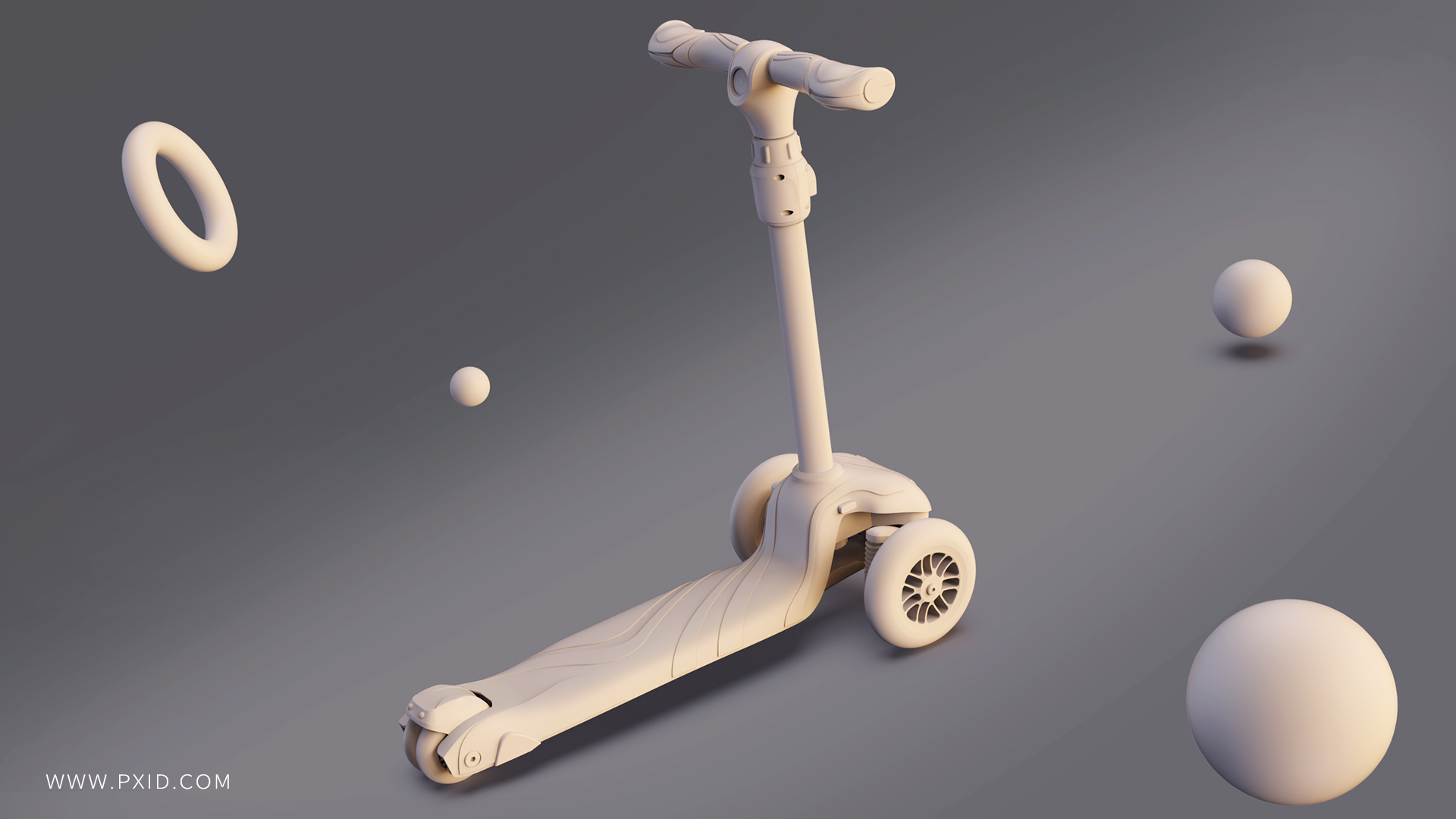Bird's first non-electric scooter is designed for kids