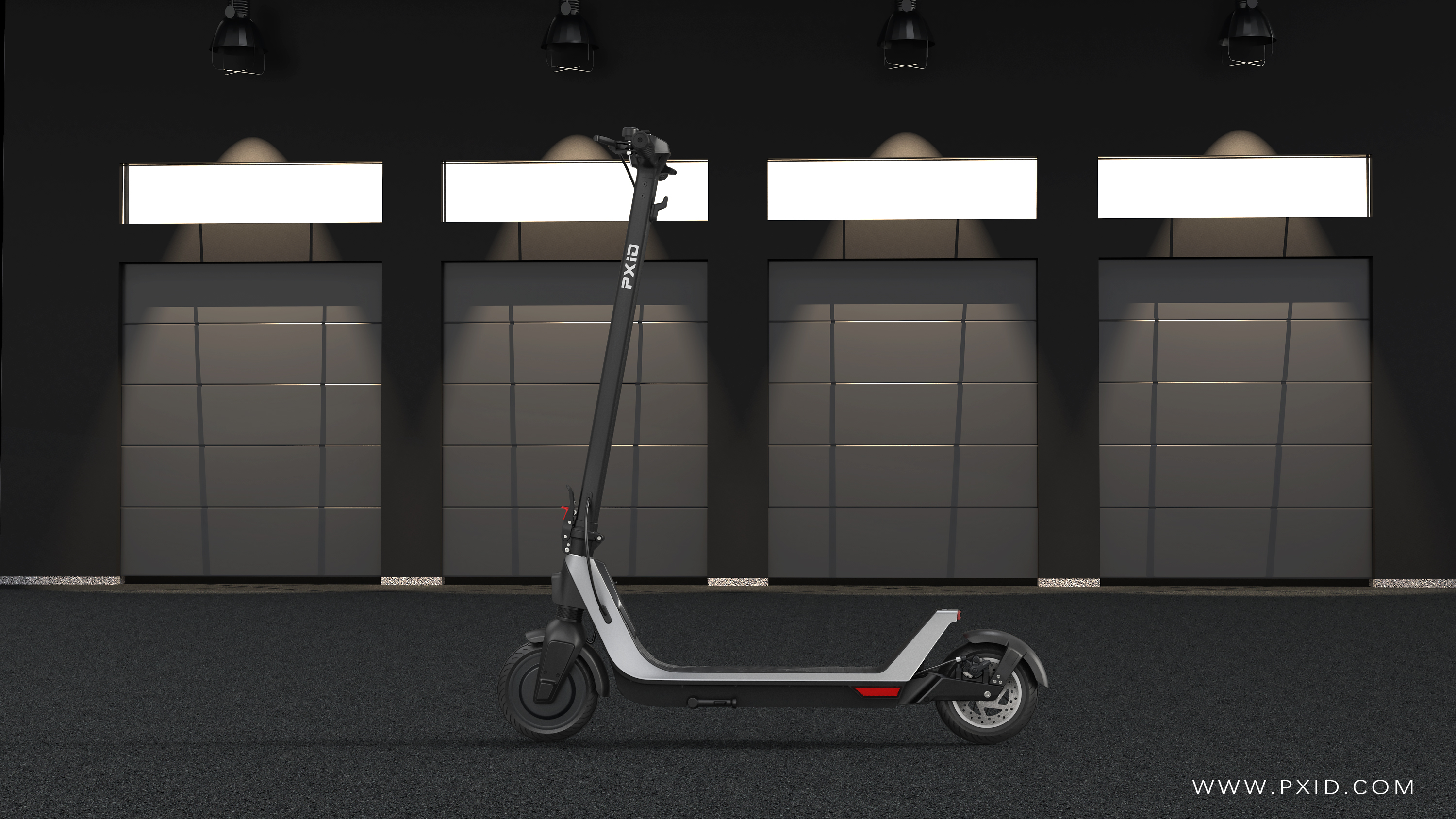 FM 2021 Electric Scooter Design