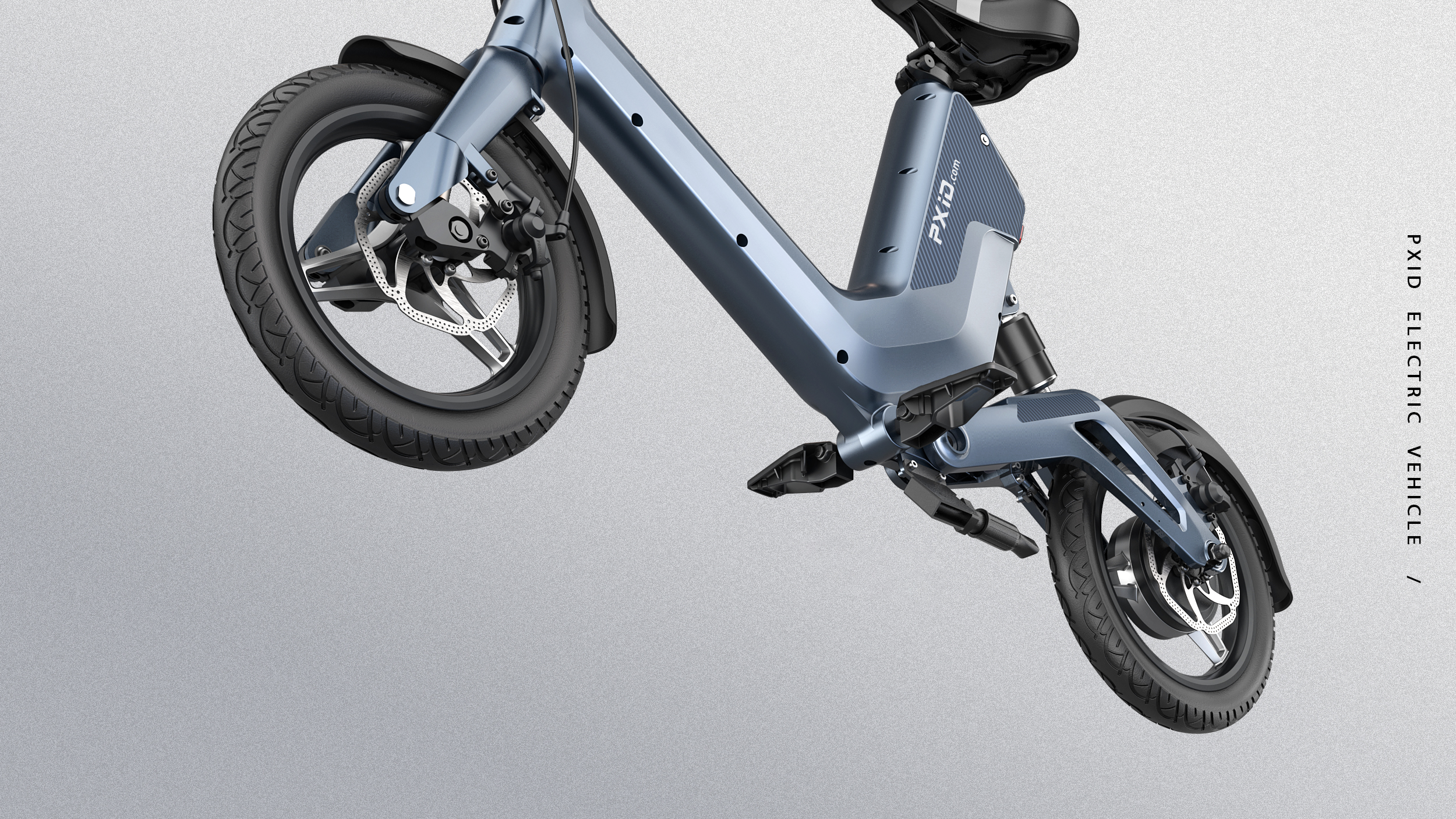 PXID new product city e bike long range 45km electric bike magnesium alloy with 14 inch wheels