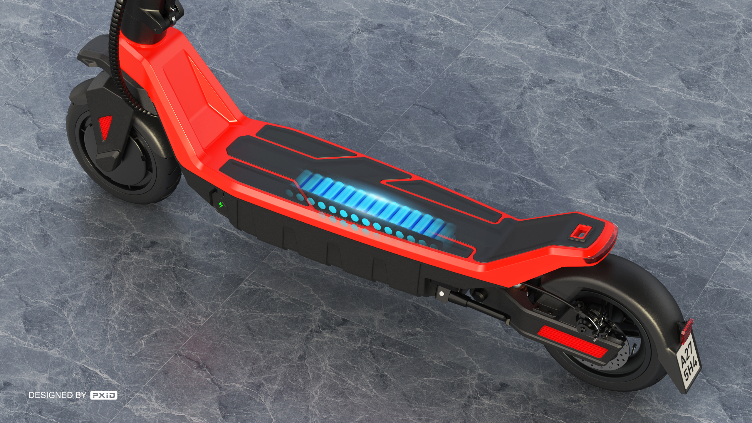 8.5 inch foldable electric scooter design