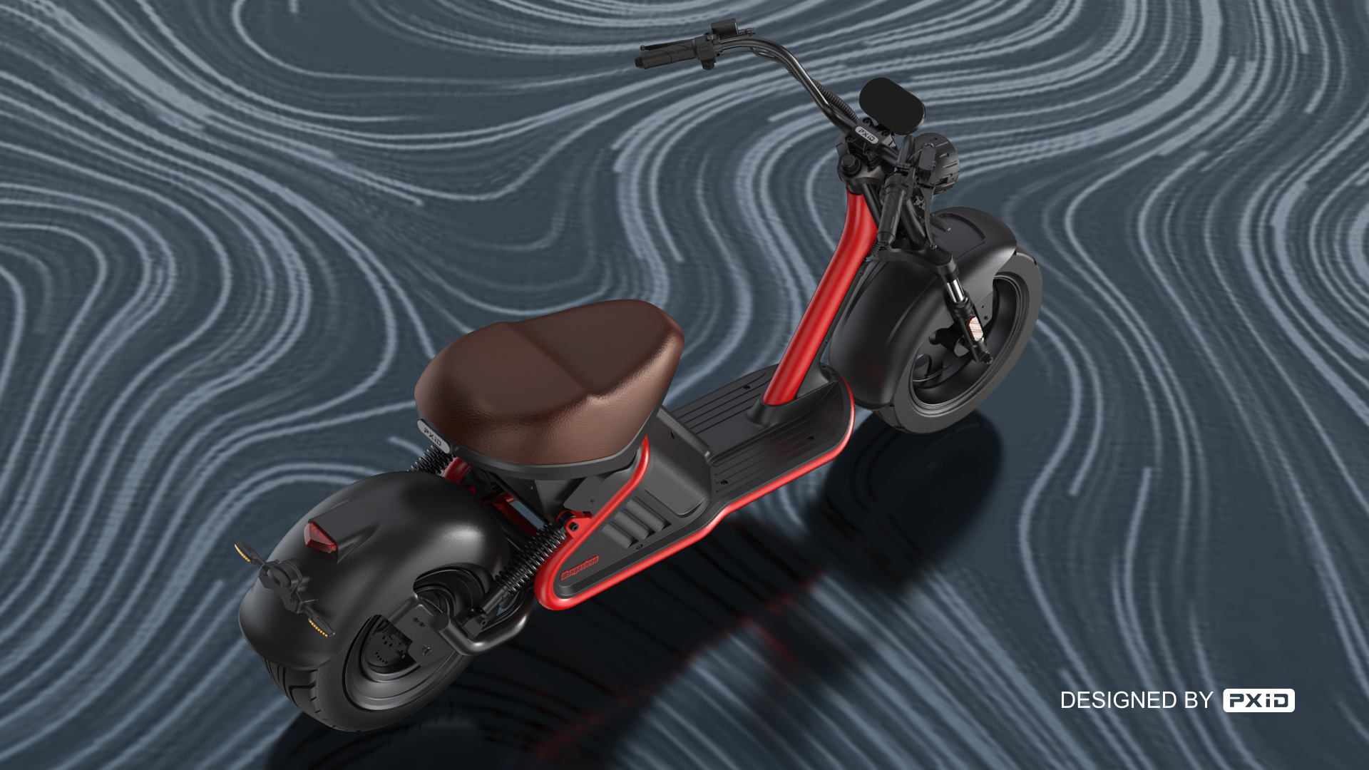 M2 Electric Motercycle Design