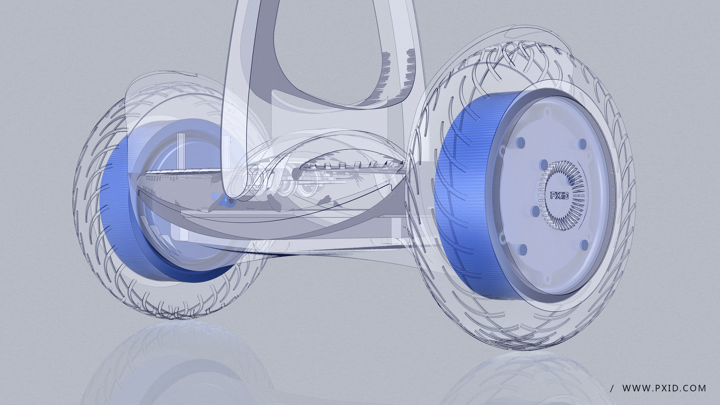 Design of water drop type balance wheel