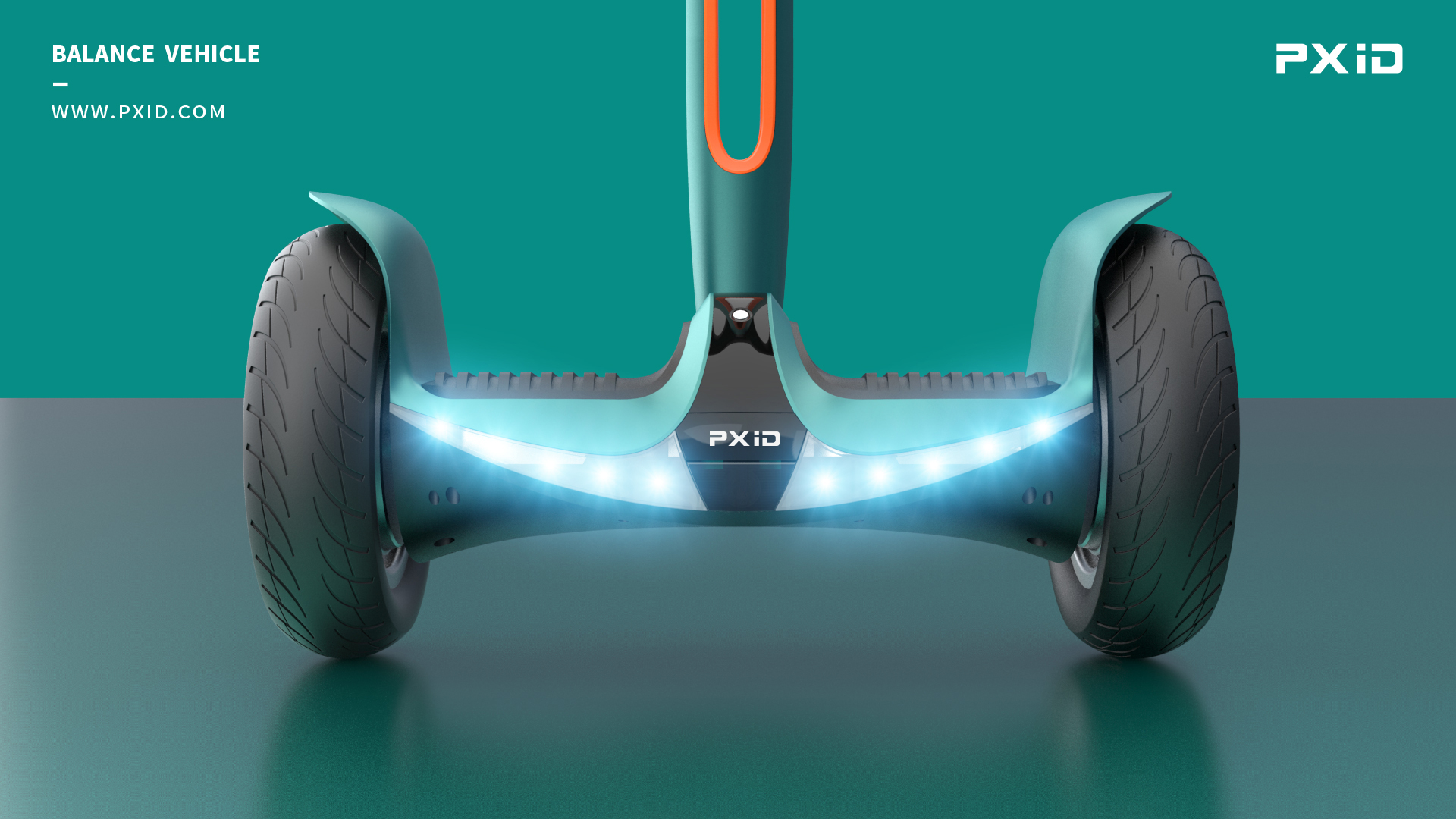 PXID Balance Wheel Scooter Design