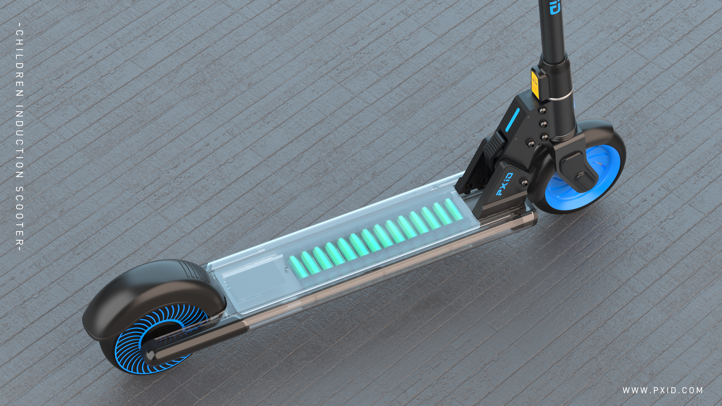 2020 PXID designed children's electric scooter