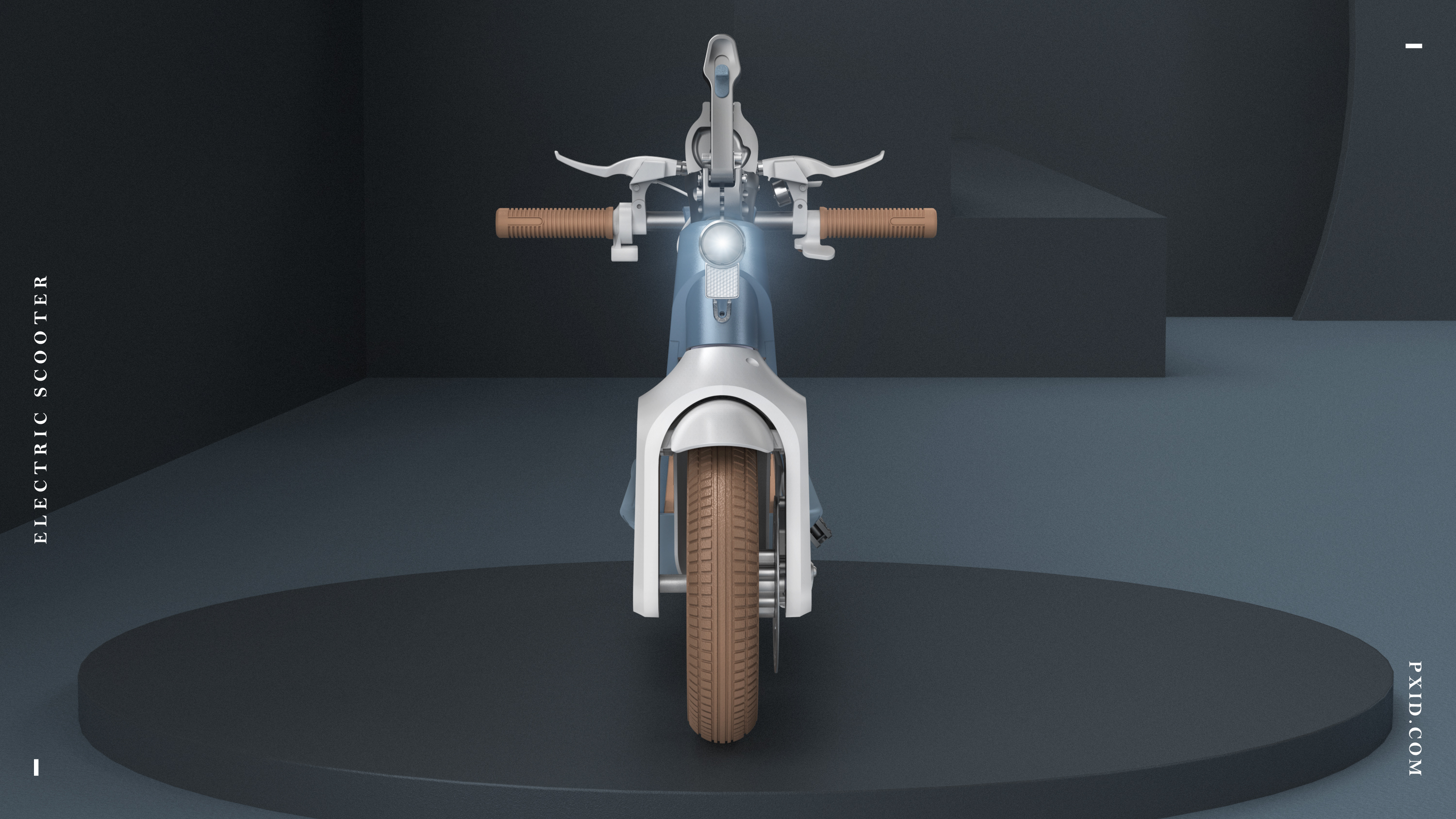 XY 10 inch electric scooter design