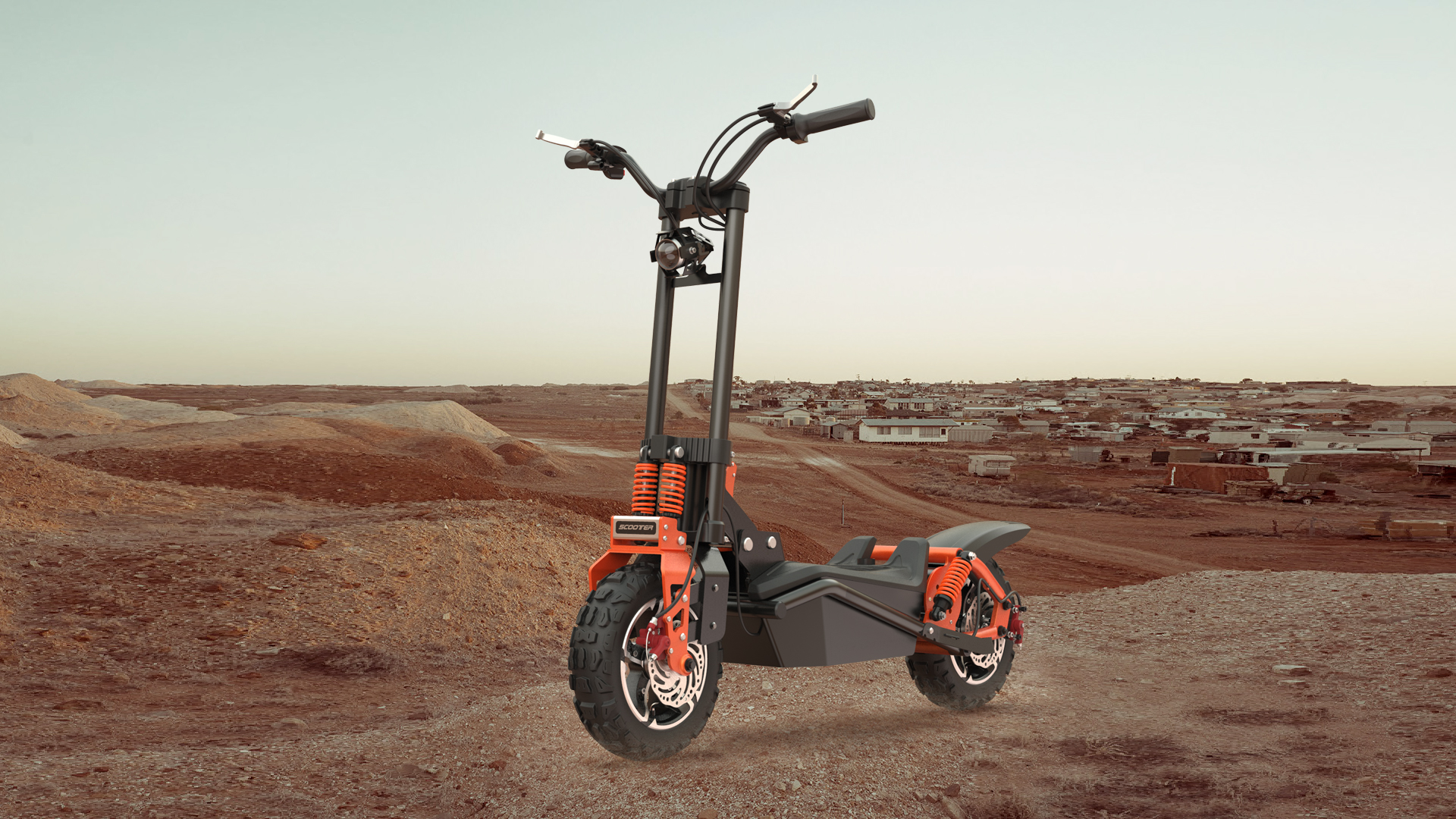 What should I do if the scooter is running low? Get it done easily