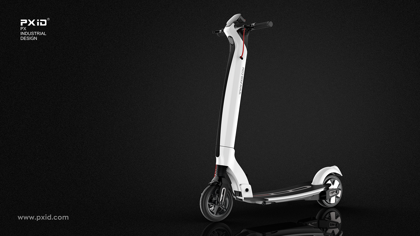 Buy a big car and send a car, set foot on the BMW Audi electric scooter, let the bear children envy