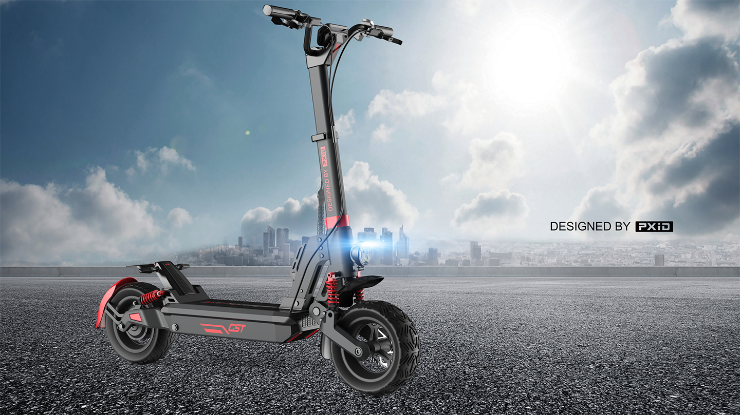 Have you seen an electric scooter that is smaller than A4?