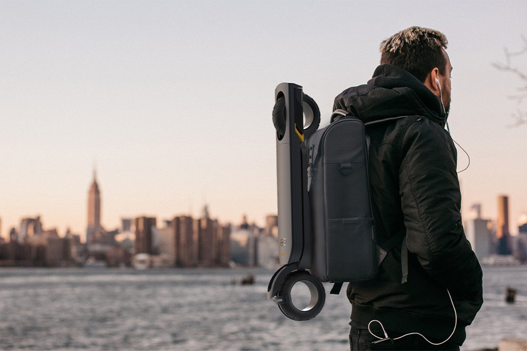 This paperback electric scooter creates a sustainable 'normal' quarantine zone