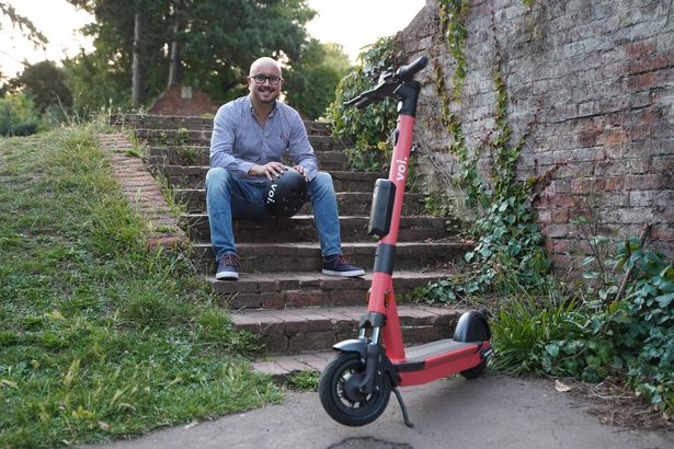 See how an electric scooter trial in Birmingham could cut travel time by 70%?