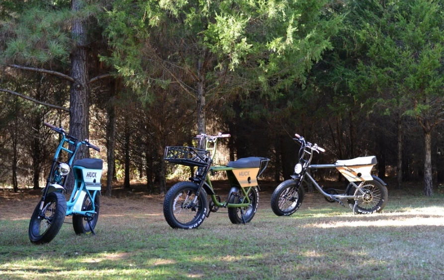 Huck Cycles launches a fast and powerful American-made reinstatement electric moped