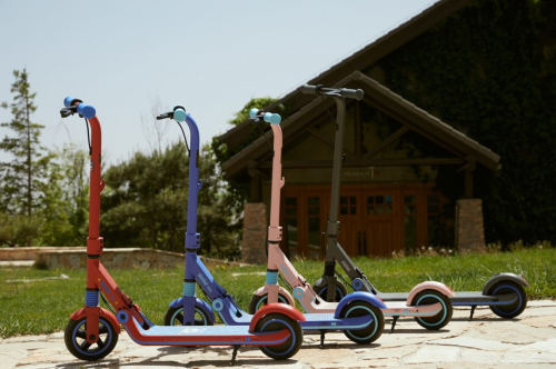 Robot no. 9: An electric upgrade to usher in the 2.0 era of children's scooters
