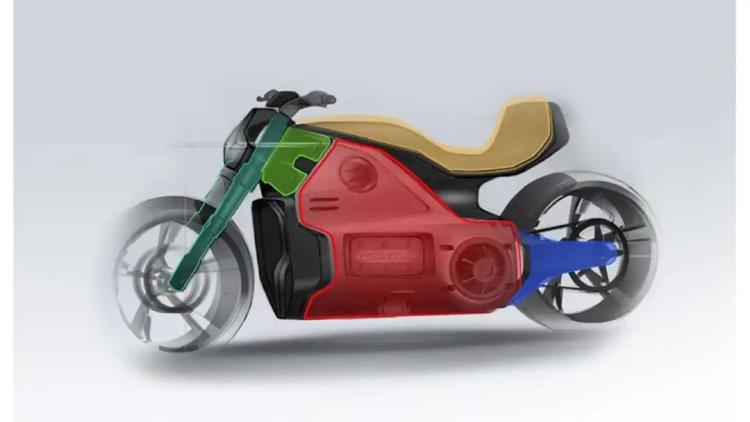 0-160km/h in 6 seconds!Voxan's new electric motorcycle, Wattman!