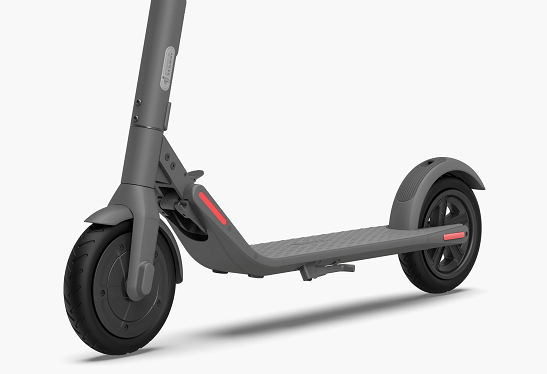 E22 experience: A new generation of electric scooter with a cool turn - back rate