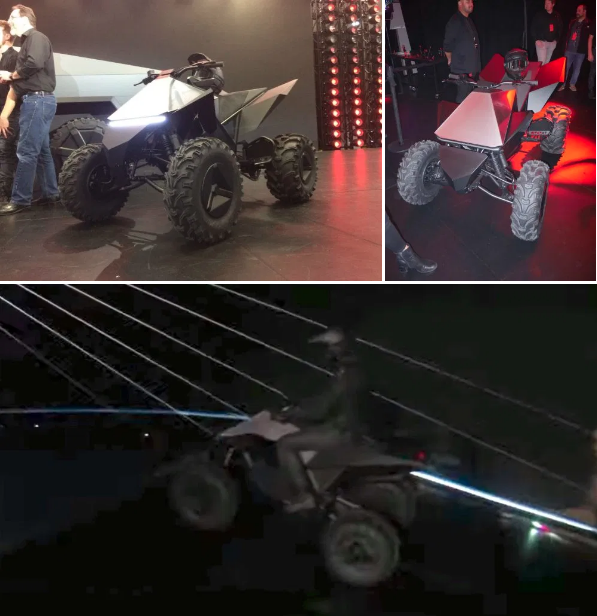 Tesla to launch Cyberquad electric all-terrain vehicle in second half of 2021