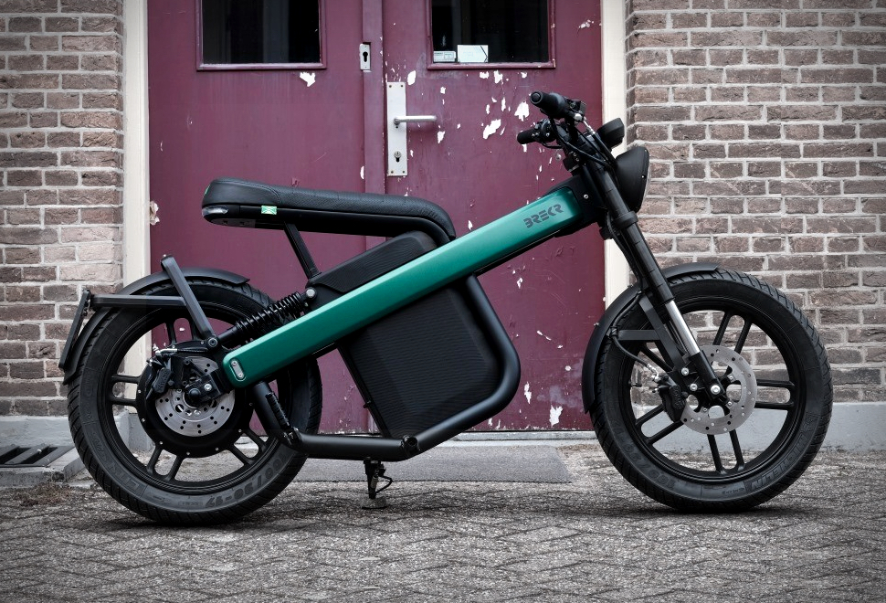 The combination of retro and modern, this electric car from the Netherlands is sought after as soon as it is launched