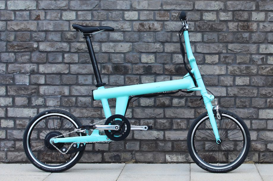 Can electric bicycles be folded like this?