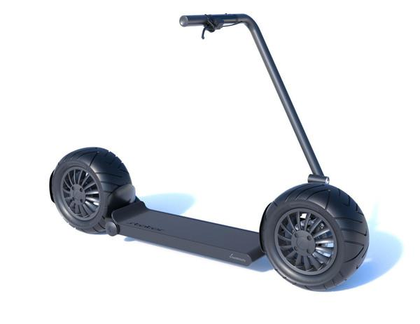 Stator's giant self-balancing electric scooter goes on sale for up to $ 4,000