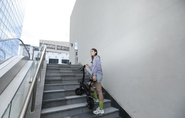 DYU's new product smart bike S2 is launched - folding lithium electric vehicle