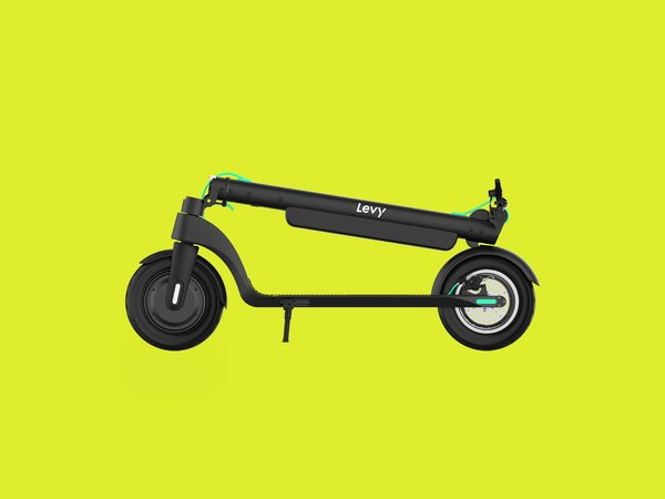 Levy Plus electric scooter meets all needs