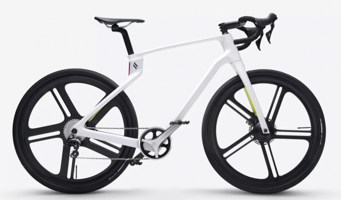 Superstrata unveiled the world's first 3D-printed all-in-one electric bicycle