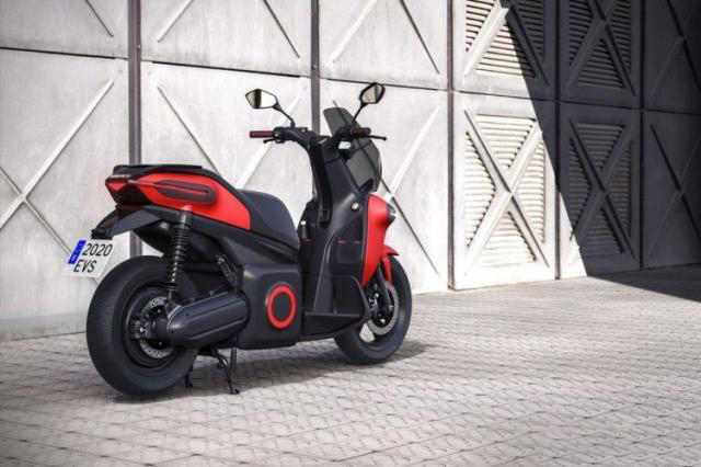 Seat enters two-wheel industry e-Scooter electric scooter announced