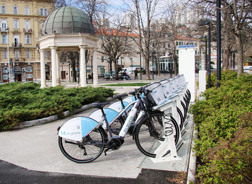 Rijeka launches new electric bike sharing system